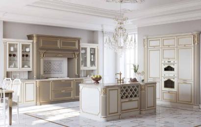Кухня из массива ясеня Т518 «Палермо»