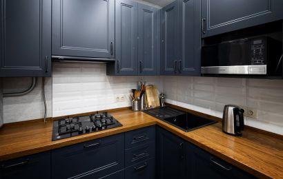 Кухня СУ694 Эйвон Эмаль матовая RAL7024