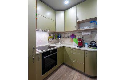 Кухня ПИ179 МДФ Эмаль матовая MZ2079
