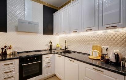 Кухня ВШ739 Аликанте RAL9003 глянец