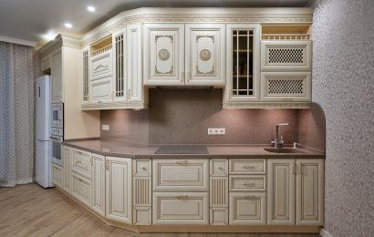 Кухня ПДЛ212 Т514К Ясень 110