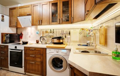 Кухня КА897 Массив Дуб 9 Тип 30, Полосы