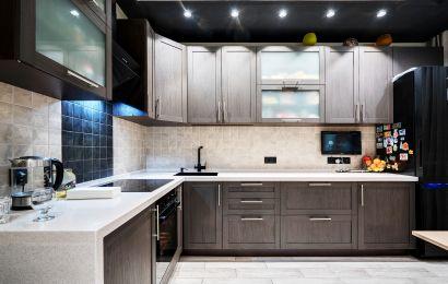 Кухня МШ878 Техно 1 ПП Каштан