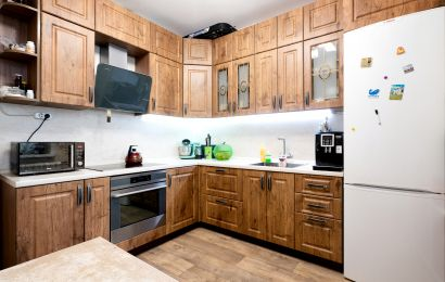 Кухня ПП299 Лонгфорд ПВХ Дуб Лансилот (верт)
